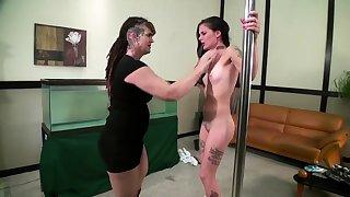 Lesbian Accompanying bdsm serfdom slave femdom domination