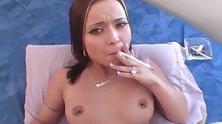 Smoking Fetish Scene with slutty babes