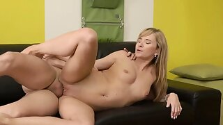 Creampie old matriarch with the addition of fucking chunky padre Would you
