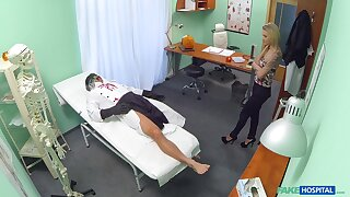 Steamy scenes of merciless sex relative to a young patient