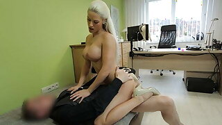 LOAN4K. Seductive chick with big boobs rides locate be useful to a lot