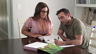 Its Fixed Roughly Stay Wish When You Got A Busty Teacher - Natasha Nice