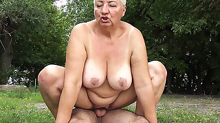 stepson loves bbw mom insusceptible to public beach