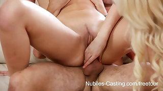 Nubiles Casting - 18 yr old cutie desperate to be a pornstar