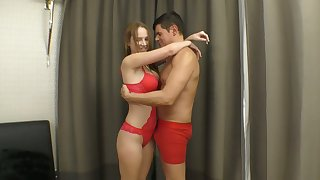 Amazing Kaisa Nord is more than horny about good nonstop evening fuck