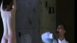 Japanese tied up slattern gets spanked